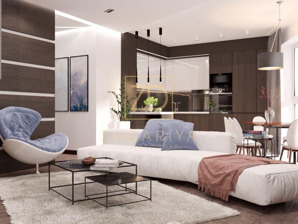 Квартиры дизайн 3d 131
