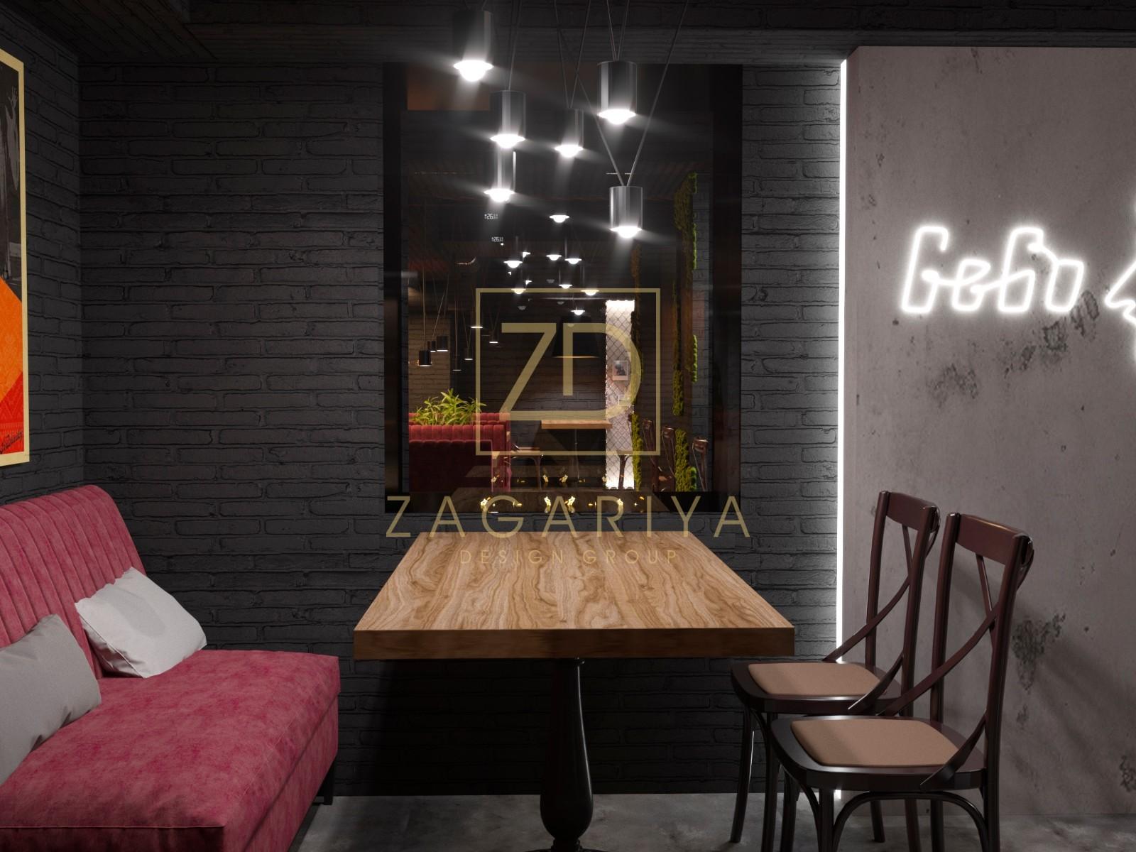 г. Нежин, дизайн бара, общественное помещение